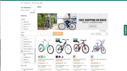 Dick's Sporting Goods – Schwinn Bikes